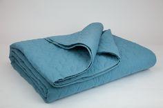 Colcha Algodão Azul | A Loja do Gato Preto | #alojadogatopreto | #shoponline