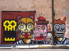 30 Examples of Graffiti & Street Art South authors: Zime – Neuzz America - Street Art Utopia, Street Art Graffiti, Urban Street Art, Urban Art, Inspiration Artistique, Graffiti Artwork, Photo D Art, Street Culture, Wow Art