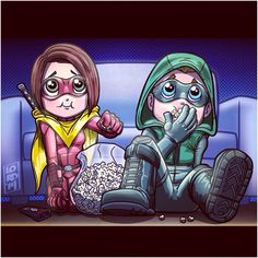 Speedy and Ollie by Lord Mesa