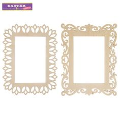 x ornate laser cut wood frames see more from hobby lobby