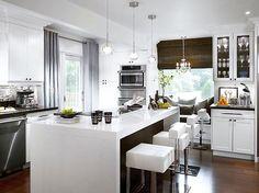 idea cucina bianca e nera | Idee per la cucina | Pinterest | Fai da te
