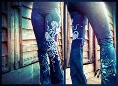 Magical Batik Yoga Pants - original handmade batik designs, with an artful focus on yoga and organic style clothing. http://www.batikwalla.com/collections/batik-yoga-pants