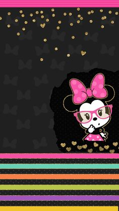 Minnie Mouse shared by GLen =^● 。●^= on We Heart It