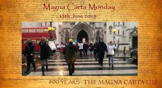 Empowerment Mondays The Weekly Protest 2015 MAGNA CARTA MONDAY 15th June @ The Royal Courts of Justice's  #EmpowermentMondays Celebrates 800 Years of the Magna Carta. Join us on 15th June 2015 at the Royal Courts of Justice... or as we have termed royal Courts of No-justice. #MagnaCartaMonday #NoJusticeNoPeace  https://www.facebook.com/events/917939198224595