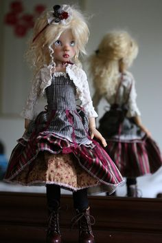 Kaye Wiggs Layla faceup & Custom Steampunk Fashion by forever_virginia, via Flickr
