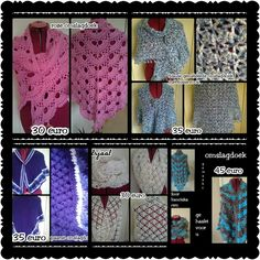 Omslagdoeken en sjaal te koop., for sale, zu verkaufen. Facebookpagina: gehaakt voor u, hakeln fur sie, crochet for you.
