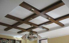 Декоративные потолочные балки в интерьере