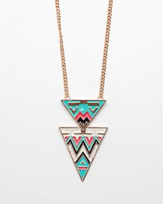art deco necklace