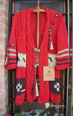 Knit Cardigan Outfit, Cardigan Pattern, Crochet Woman, Knit Crochet, Hippie Crochet, Crochet Fashion, Crochet Clothes, Autumn Winter Fashion, Knitwear
