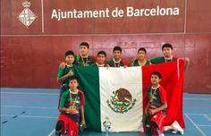 Niños triquis conquistan la cima del basquetbol en Europa