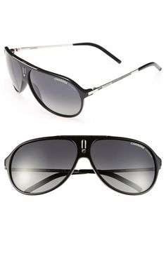 Carrera Eyewear 'Hot' 64mm Sunglasses available at #Nordstrom