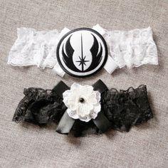 Star Wars Bridal Garter Wedding Garter  Keepsake by NAFEstudio