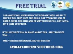 1.We were in this Technical analysis segment for the past 8 years, we here provide single target calls for currency market. Currency tips were positional calls, we will mention the lot size for trading.Contact @ 9025298478 Visit @    http://www.indiancurrencyfutures.com/payment.html