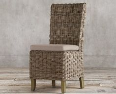 I've gathered together my favorite kubu rattan side chairs and am sharing the ones I chose along with how they've held up! Teal Dining Chairs, Room Chairs, Side Chairs, Dining Rooms, Bar Chairs, Kitchen Dining, Dining Decor, Kitchen Chairs, Dining Area