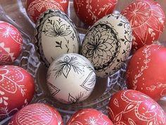 """Τα πασχαλινά αυγά της Αγνής- Παραδοσιακές """"περδίκες"""" - Painted Easter Eggs…"""