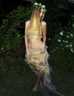 Enchanted Fairy Hair by SHAG Stylist Patty Martin #hair #style #flowers