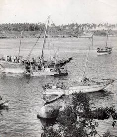 Dhows Mombasa 1960s