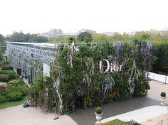 Dior Catwalk Paris SS14 4 Dior transforme le musée Rodin en jardin