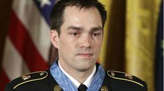 VIDEO from @FoxNews: Staff Sgt. Clinton Romesha receives Medal of Honor for leadership during Afghanistan fight.
