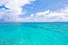 Blue as far as the eye can sea!