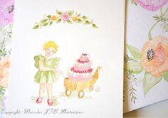 Birthday Invitation project 2.Copyright Mercedes JTB