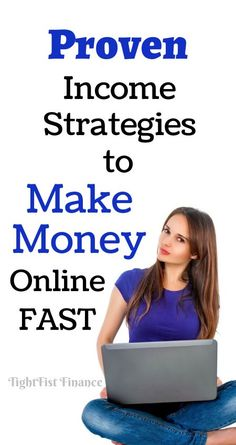 Ways To Make Extra Money Discover Proven income strategies to make money online fast - The best income strategies to make money online fast for beginers. Here is how to make money quick in one day without paying anything. Ways To Earn Money, Earn Money From Home, Make Money Fast, Earn Money Online, Make Money Blogging, Money Tips, Money Saving Tips, How To Get Money, How To Make