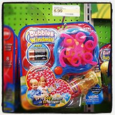 """Target, """"Bubble Windmill"""" $7 *supposedly Best Bubble Blower, Best Bubble Machine for Kids"""