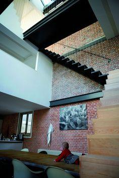 Prinsengracht, Amsterdam. Pinck Heerkens #House #rusticos #rustic #bricks #tijolos #ceramic #facing #brick #clinker bricks #klinker #bricks #facingbrick #ladrillos #caravista #avista #brique