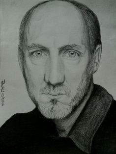My portrait of Pete Townshend.