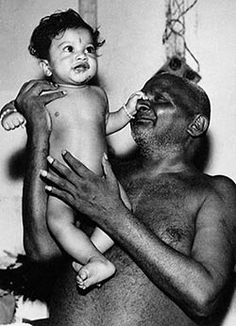Swami Nityananda was renowned in the southern and western parts of India, and is regarded as one of the most important modern saints of the 20th century  here w  child