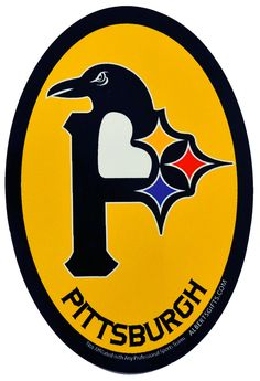 Support the Pirates, the Penguins, and the Steelers all at once with this awesome 3 in 1 logo sticker. Pittsburgh Steelers Logo, Pittsburgh Sports, Pittsburgh Pirates, Pittsburgh Penguins, Steelers Tattoos, Pirate Clip Art, Here We Go Steelers, Camden Yards, Lets Go Pens