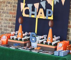 Chap's Football Party | CatchMyParty.com