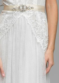London based designer label that offers a unique selection of feminine bridal and womenswear pieces from Katya Shehurina Vintage Inspired Wedding Dresses, Wedding Gowns, Bohemian Bride, French Lace, One Shoulder Wedding Dress, Opal, Tulle, Women Wear, Feminine