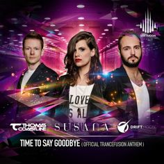 New release: Driftmoon vs Thomas Coastline and Susana: 'Time to say goodbye' (Official Trancefusion Anthem)