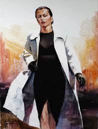 andrianov shulman art - Google Search She's A Lady, Art Google, Russia, Countries, Artist, Fictional Characters, Google Search, Fashion, Moda