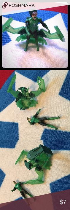 Selling this Miniature Green Lantern and his magic wings on Poshmark! My username is: icesis22. #shopmycloset #poshmark #fashion #shopping #style #forsale #Green Lantern #Other