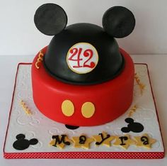 mickey mouse cake how to make | New Cake Ideas