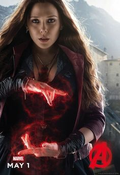 Scarlet Witch and Quicksilver Get Feature in New Avengers: Age of Ultron Character Posters