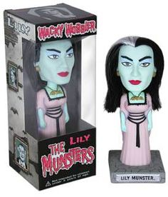 The Munsters Funko Wacky Wobbler Lily Munster New Funko Figures, Vinyl Figures, Action Figures, Herman Munster, Lily Munster, Wacky Wobbler, Pop Ads, Peter Steele, The Munsters