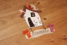 Dřevěná cedulka na dveře KOCOURKOV Snoopy, Fictional Characters, Fantasy Characters