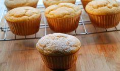 Muffins gemaakt met griekse yoghurt en zonder boter