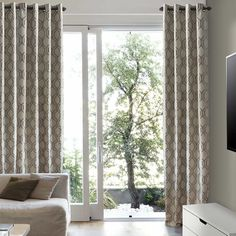 Vino Jacquard Insulated Lite Out Drapery Panels