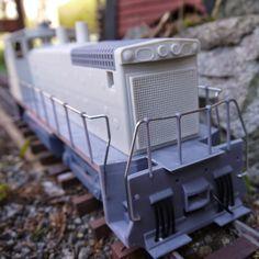 Download on https://cults3d.com #3Dprinting 3D OpenRailway EMD SW1500 1:32 Locomotive, DanielNoree