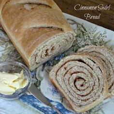Cinnamon Swirl Bread from Chocolate Chocolate and more