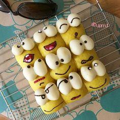 """1,359 Likes, 135 Comments - うみ * umi (@umi0407) on Instagram: """"毎日雨続きですね… 再びかえるさんの #ちぎりパン を作りました #ど根性ガエル の #ピョン吉 さんです(笑) 今週末から実写版が放映されるみたいですね〜 * #松山ケンイチ さん!結構スキです♡…"""""""