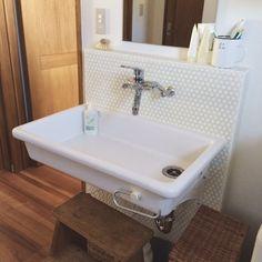 「実験用シンク」 「インダストリアル」 「男前」 「Bathroom」 が写っているroniqueさんのインテリア実例写真を紹介します。2014-09-12 23:34:26に撮影されました。