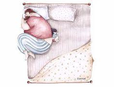 Μια σκιτσογράφος «ζωγραφίζει» με τον πιο γλυκό τρόπο τον ιδιαίτερο δεσμό πατέρα- κόρης και μας κάνει να ταυτιστούμε και να συγκινηθούμε!