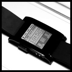 Pebble Smartwatch with Mac OS watchface | Flickr - Photo Sharing!