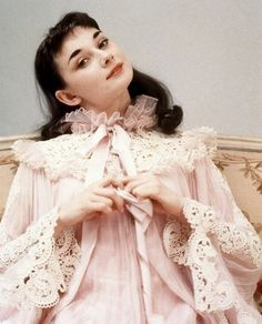 Audrey Hepburn - My Fair Lady - Cecil Beaton Fashion