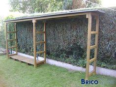 Construire un abris à bois de chauffage